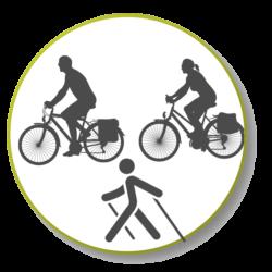 fiets en wandel